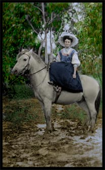 Photo restoration Colourised images